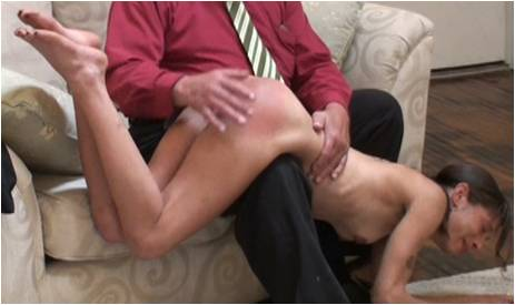 a hot cougar and her man team up on a young babe s bald pussy
