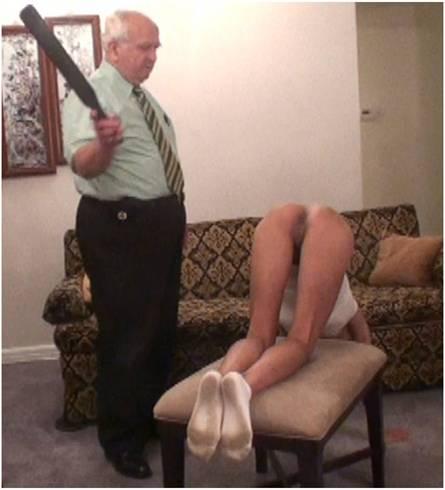 Headmaster anus spank