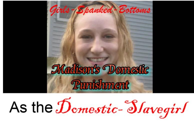 Domestic-Slavegirl Punishment