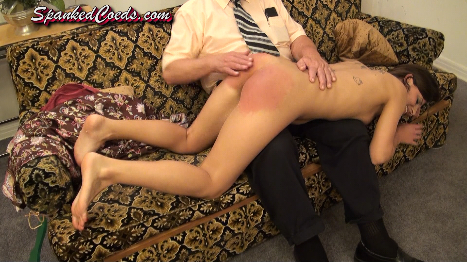 Women spanked over the knee