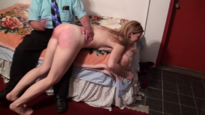 Girl young disobedient girl spank hot more