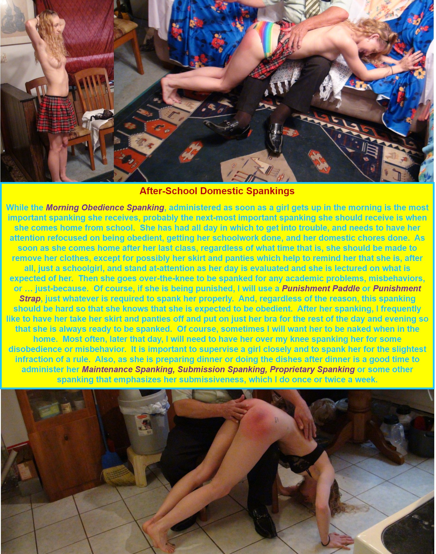 After-School Domestic Spankings