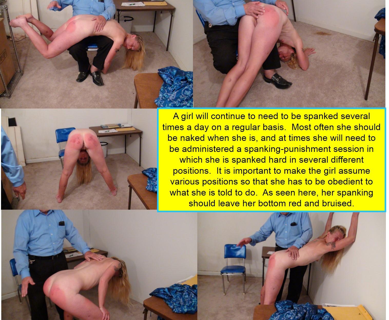 How to spank a sub