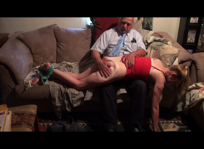 Kendra Spanked for Improper Clothes-2