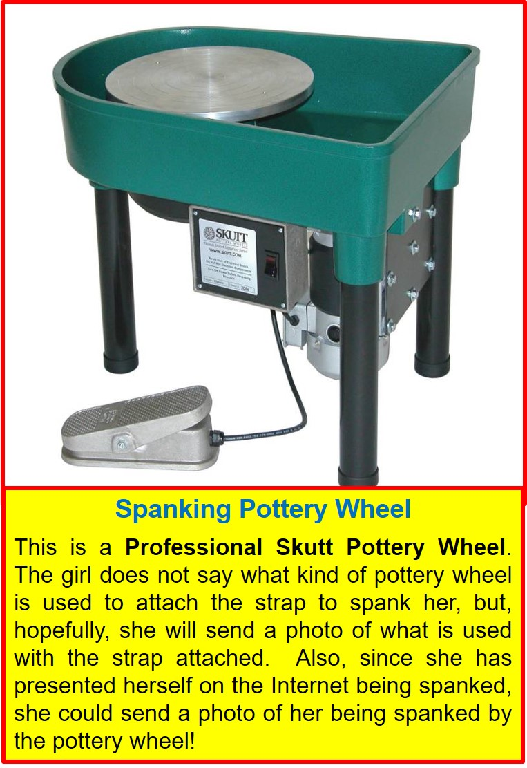 19-y.o._Pottery Wheel Spanking Machine