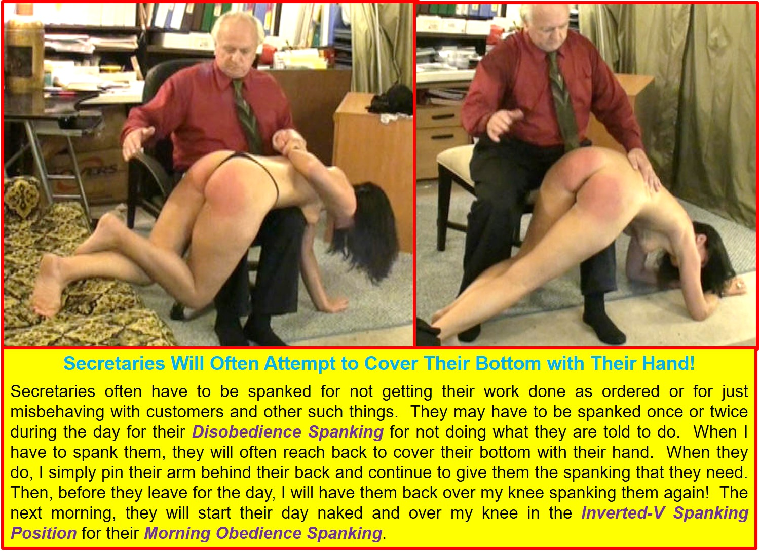 Behavior-Modification and Attitude-Adjustment Spankings, 2